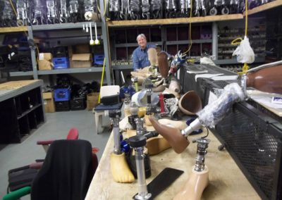 Inmate Prosthetic Limb Recycling Program