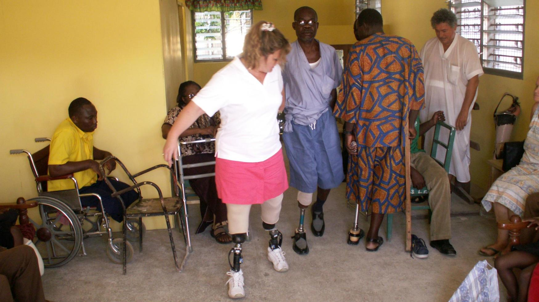 Giving To Standing With Hope's Prosthetic Limb Ministry